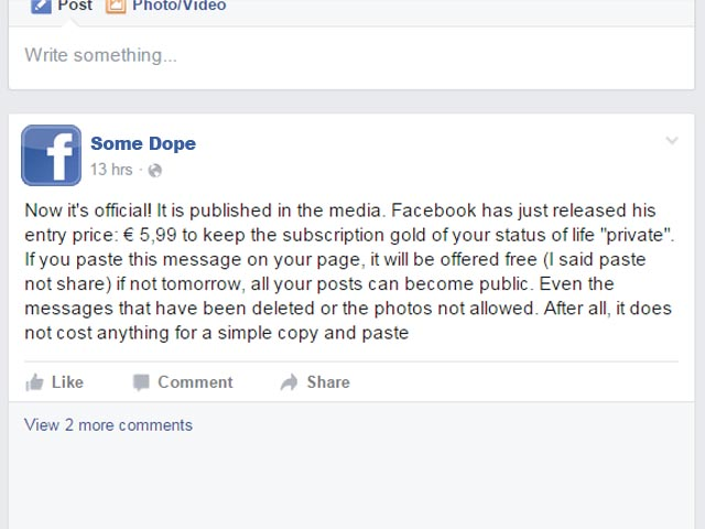 7a4dc05f293 Now it s official. It is published in the media. Facebook has just released  his